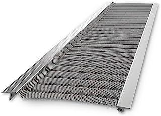 گارد رپتور گاتر | میکرو مش استیل ضدزنگ ، پیمانکار درجه ، پوشش روده DIY. متناسب با هر نوع سقف یا نوع ناودان - از 48 فوت به یک جعبه. متناسب با صاف استاندارد 5 اینچ است.