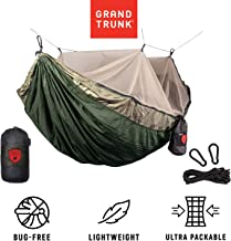 Grand Trunk Skeeter Beeter Pro Mosquito Hammock: Portable Bug Prevention Hammock with Carabiners and Hanging Kit - Perfect for Outdoor Adventures, Backpacking, and Camping Trips