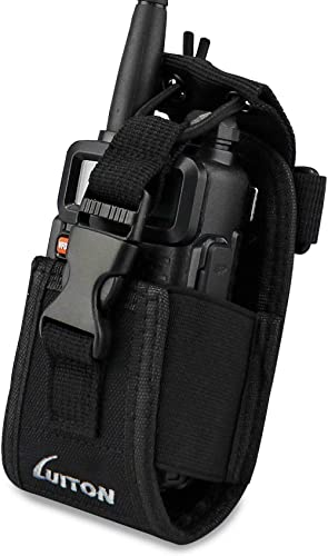 LUITON 3 in1 Multi-Function Radio Holder Holster Case Pouch Bag for GPS Kenwood Yaesu Icom Motorola baofeng UV5R UV82...