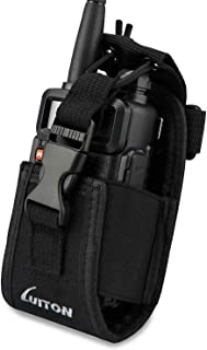LUITON 3 in1 Multi-Function Radio Holder Holster Case Pouch Bag for GPS Kenwood Yaesu Icom Motorola baofeng UV5R UV82 TYT ...
