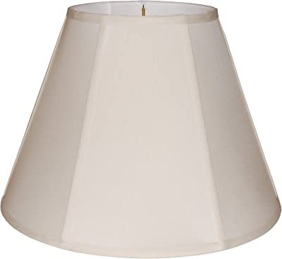 Pwt B//S Cal Lighting SH-8106//20-EG Shade from Piped Empire Collection 20.00 inches Nckl Slvr.