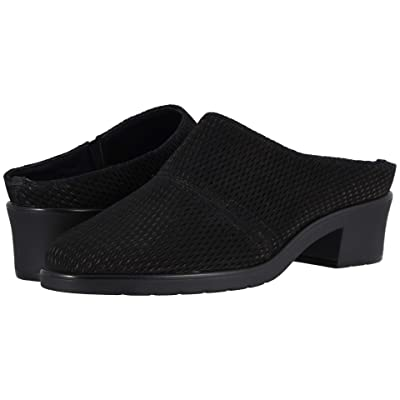 Walking Cradles Caden (Black Stamped Nubuck) Women