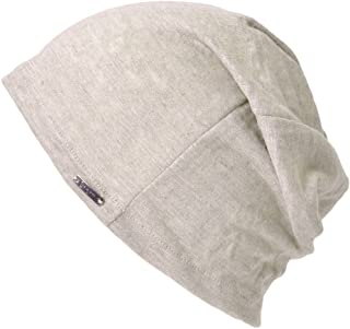 TOTZY Chemo Cap Turban Headwear Womens Beanie Headwrap Lace Hat for Hairloss Beige