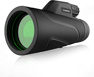 Monocular Telescope, 12x42-Scope High Definition Wide View Monocular - with Retractable Eyepiece and Fully Multi Coated Optical Glass Lens + BAK4 Prism. for Bird Watching, Hunting, Camping, Travelling
