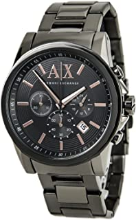 Armani Exchange Men's Grey IP Plated Stainless Steel Watch AX2086