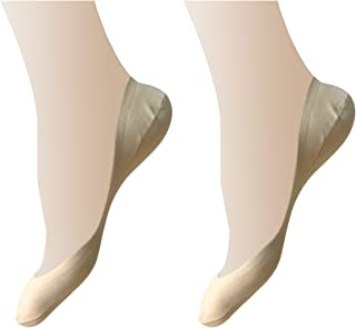 Women's Ultra Low Cut No Show Liner Invisible Socks for D'Orsay Pumps,US Shoe Size 5-10, 2pp&6pp