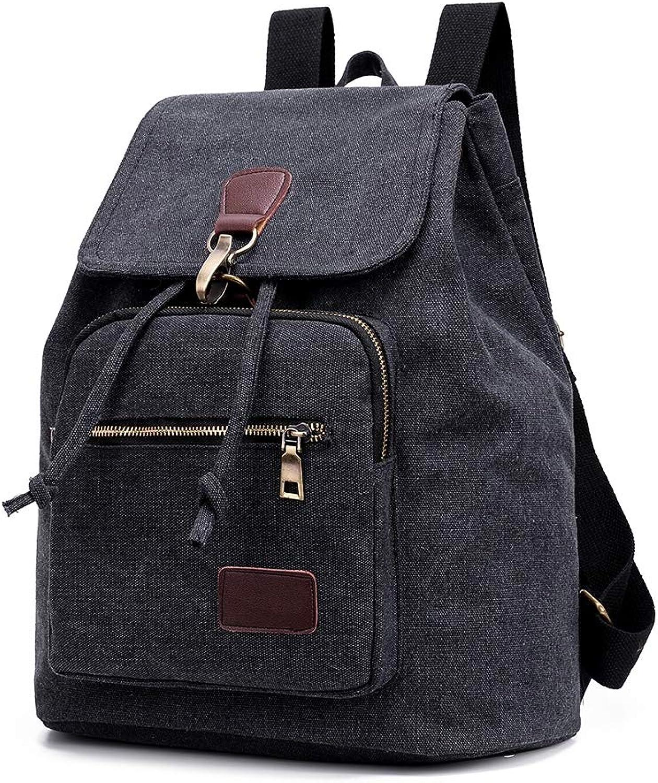 LCM Rucksack Female, Wild Large-Capacity Student Bag, Fashion Casual Rucksack, Bucket Tide Bag,A