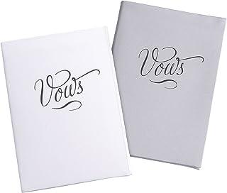 مجموعة من 2 كتب من الساتان العاجي من ليليان روز، 13.97 سم × 10.16 سم VB100 W