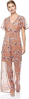 Mela London A Line Dress for Women - Brown