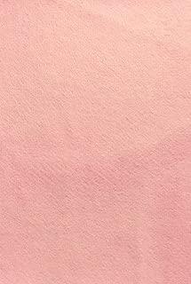Felt (Flamingo Pink - PMS 176) sticky Back, A4 sheet (8.27