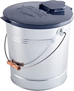 RCK Sales Smoker Pellet Storage Bucket and Lid with Filter for 20 LBS by Traeger Grills BAC370 BAC430