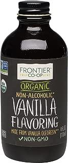 Frontier Organic Vanilla Flavoring, 4 Ounce
