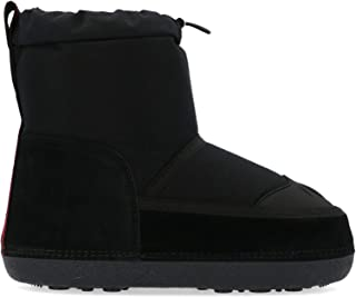 Luxury Fashion   Dsquared2 Women SBW0006081000012124 Black Fabric Ankle Boots   Autumn-winter 19