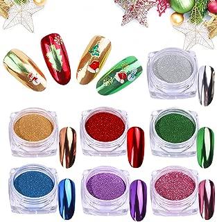 chrome pigment nails