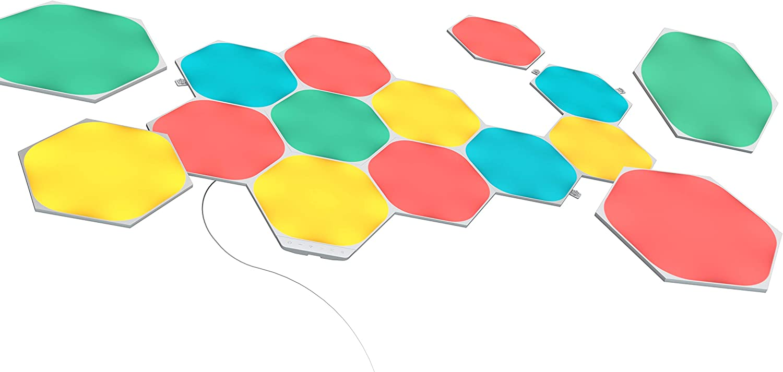 Nanoleaf Shapes Hexagons Starter Kit - 15 Hexágonos Luminosos