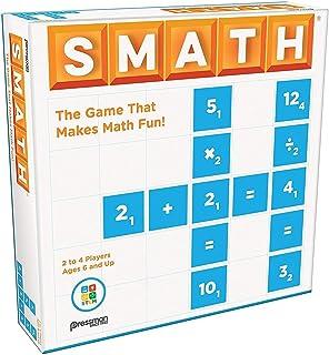 """Pressman 5202-06 SMATH - The Game That Makes Math Fun! 5"""""""