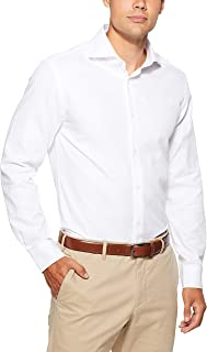 Oxford Men's Trafalgar Dobby Shirt, White