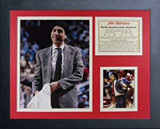 Legends Never Die Jim Valvano NC State Wolfpack Collage Photo Frame, 11