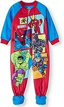 Marvel Super Heroes Pajamas Footed Blanket Sleeper for Toddlers
