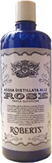 acqua distillata alle rose