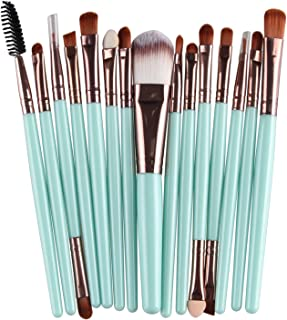 Professional 15Pcs/18Pcs Cosmetic Makeup Brush Foundation Eyeshadow Eyeliner Lip Make Up Eye Brushes Set Kit,LK