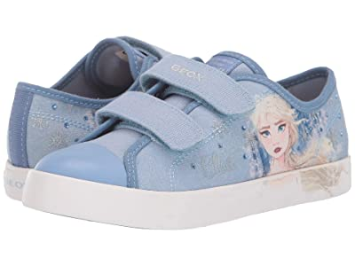 Geox Kids Frozen Ciak 76 (Little Kid/Big Kid) (Light Sky) Girl