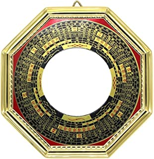 FengShuiGe 4.6 Inch Chinese feng shui Bagua Mirror Convex for Protection for protection against passive negative energy protection against active harmful energy