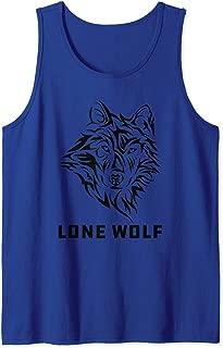 Lone Wolf Tribal Northern Men Women Boys Kids Tank Top