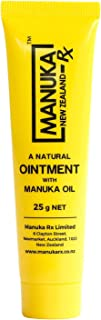 Natural Skin Ointment with Manuka Oil and Beeswax | ManukaRx | Multipurpose Ointment | 25g Tube