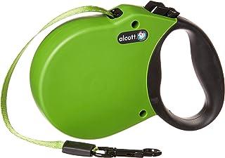 Alcott Adventure Retractable Leash, Small, Green