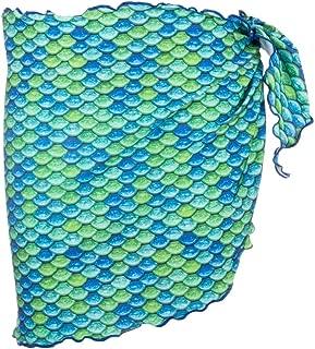 Mermaid Girls Swimsuit Cover Up Sarong- Mermaidens Swimwear