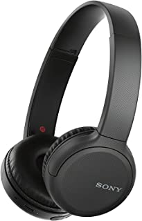 Sony WH-CH510 Wireless On-Ear Headphones with Mic - Black (Pack of 1)