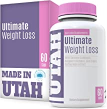Ultimate Weight Loss Formula with Garcinia Cambogia, Green Tea, Green Coffee Bean, and Raspberry Ketones - Appetite Suppressant, Boosts Thermogenesis & Metabolism to Lose Weight Effectively