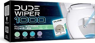 Dude Products Wiper1 000, Bidet Toilet Attachment, White 1 Count