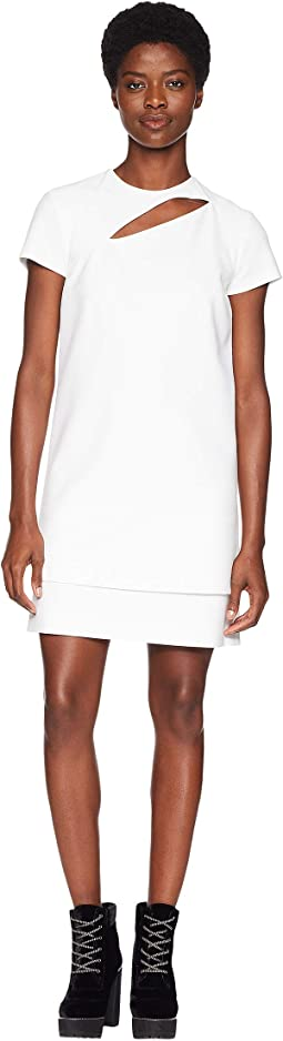 Abito Donna Tessuto Short Sleeve Dress