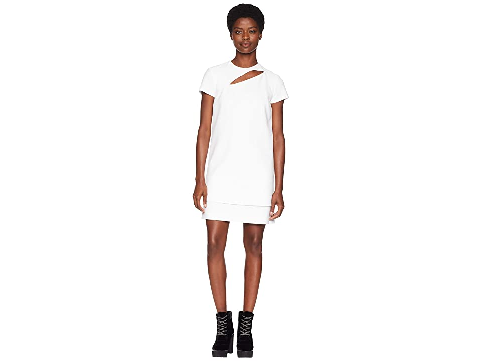 Versace Collection Abito Donna Tessuto Short Sleeve Dress (White) Women