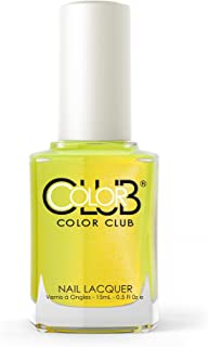 Not-So-Mellow Yellow Color Club Nail Lacquer .5 fl oz- 15 mL