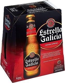 Estrella Galicia Cerveza Especial -Pack de 6 x 25 cl - Total