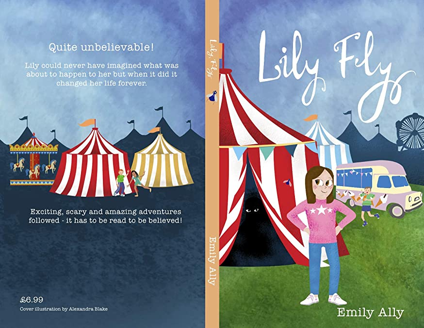 染色姓同情的Lily Fly (English Edition)