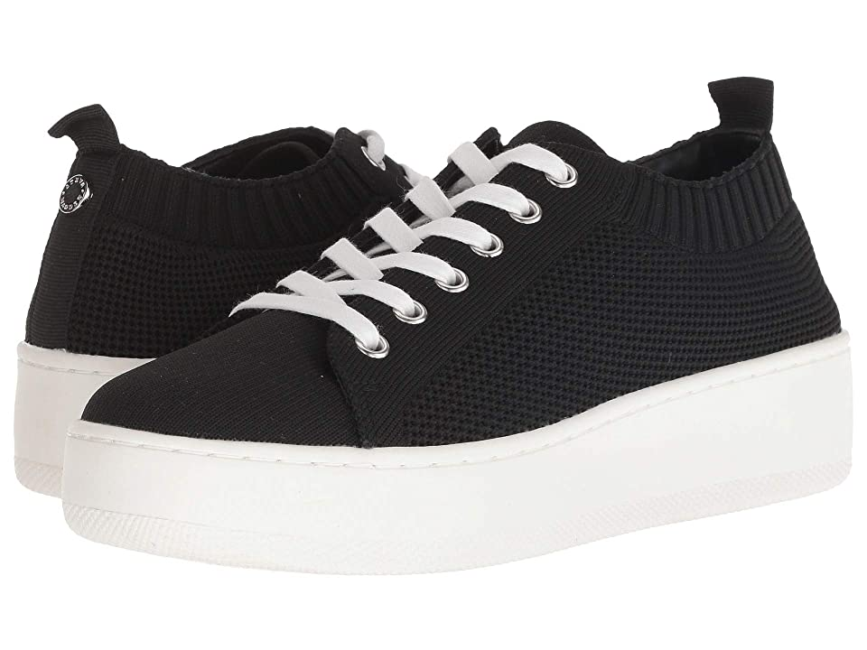 241ffb976f8 Steve Madden Bardo Sneaker (Black) Women s Lace up casual Shoes