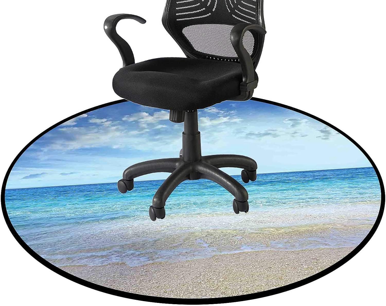 Cream outlet Blue Office Swivel Chair Mat Ranking TOP15 Ocean for Floor Mats Sofa Liv