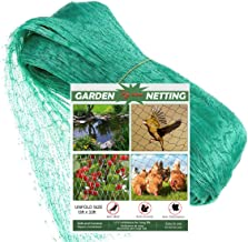 Fzy.bstim Green Anti Bird Netting,Garden Plant Netting Protect Fruits Vegetable, and Sensitive Plants Rodents Against Bird...