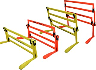 ARISE Ultimate Adjustable Hurdle Set, 4 Heights, Speed...