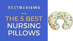 Organic Travel Sized Pillow with Slipcover The Nest Egg Blue Truffles