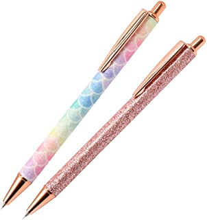 2 Pcs Glitter Weeding Pen, Fine Point Pin Pen Weeding Tool for Vinyl, Air Release Pen for Easy Craft Vinyl Projects