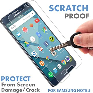 VK Voxkin Tempered Glass Screen Protector for Samsung Galaxy Note 5