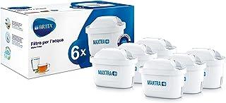 BRITA Maxtra+ Filtre à Eau Potable pour Carafe, 100L 6 Filtri Blanc