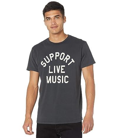 The Original Retro Brand Black Label Premium Vintage Support Live Music Tee