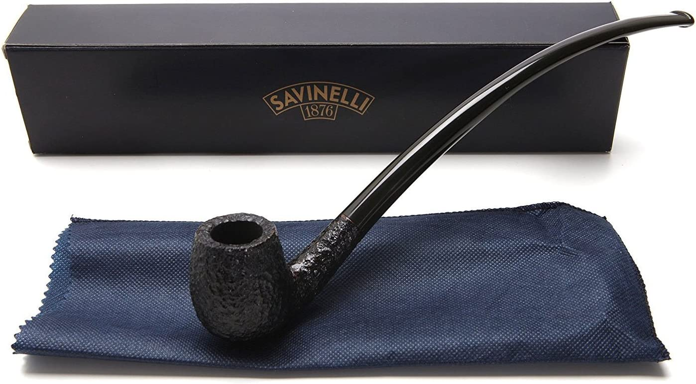 Savinelli Italian Tobacco Smoking Outlet shopping ☆ Free Shipping Churchwarden Rusticated Pipes