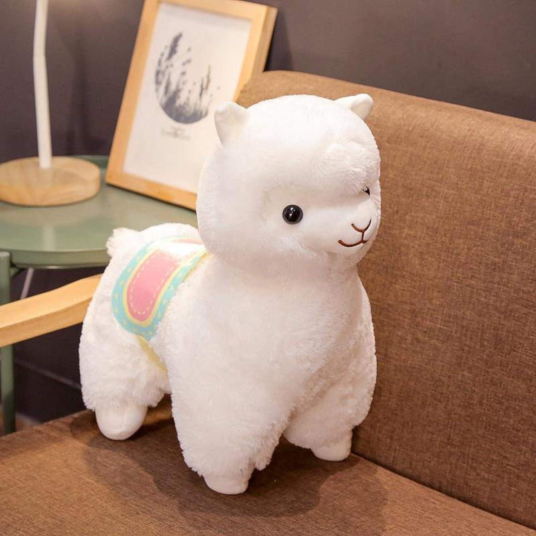 Plush Toy Cute Saddle Alpaca Birthday SALENEW very Don't miss the campaign popular Soft Gift 5